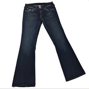 True Religion Bootcut Womens 28 Jeans